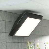 Giuseppe LED ceiling light for outdoors 18 W black
