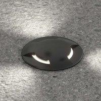 LED deck light Ceci 120 2 L in black
