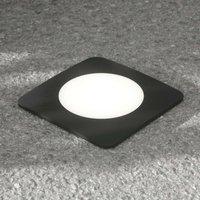 Square LED deck light Ceci 160 SQ 10 W  black