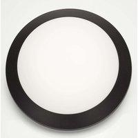 In black   LED wall lamp Umberta 11 W warm white