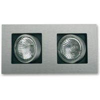 Two bulb LED recessed light Multi  pivotable