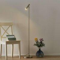 Arletta LED floor lamp  steel