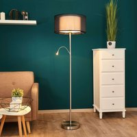 Damento floor lamp with a reading light