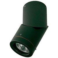 Soleo outdoor surface mounted spotlight  black