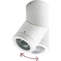 Soleo outdoor surface mounted spotlight  white