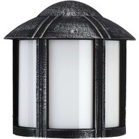 Country style Affra outdoor wall light  black