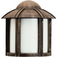 Country style Affra outdoor wall light  brown