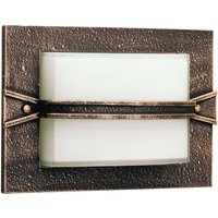 Country style  llin outdoor wall light  brown