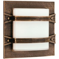 Country style Annlin outdoor wall light  brown