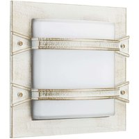 Impressive Annlin outdoor wall light in white gold