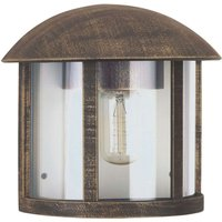 Country style Gerlin outdoor wall light  brown
