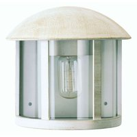 Charming Gerlin outdoor wall light in white gold