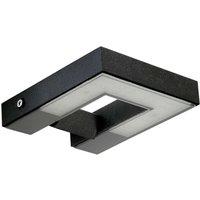 Striking outdoor wall light Magneta  black