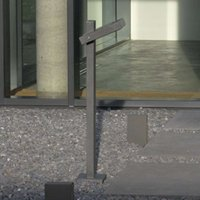 Exceptional bollard light MagnoUp  anthracite