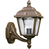 Country house outdoor wall light 719  brown