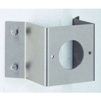 Small corner block for outdoor wall lights