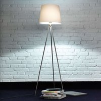 Three legged floor lamp Pico  matt nickel
