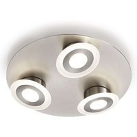 Three bulb LED ceiling light Alida