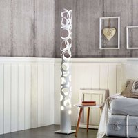 White designer floor lamp Thor