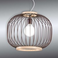 Steel mesh Chaplin hanging light  48 cm