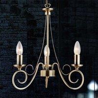 TRUNCATUS 3 Lamp Ant  Brass Pendant Lamp