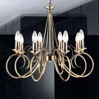 Atmospheric eight bulb hanging light TRUNCATUS