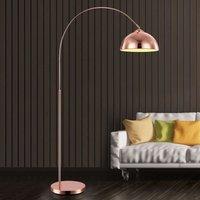Arc shaped floor lamp Pelin