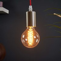 Red cable   Haiko hanging light