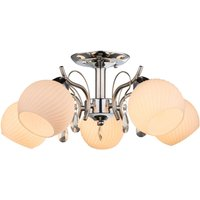 Attractively designed 5 bulb ceiling lamp Pinara