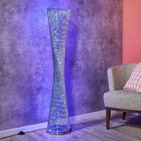 Extravagant RGB LED floor lamp Philia