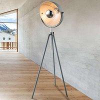 Miriam tripod floor lamp with a concrete look