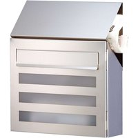 Stainless steel letterbox Terno