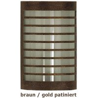 TERU   wall lamp brown gold patinated