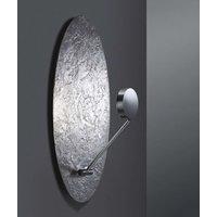 Impactful LED wall light Lusola  silver leaf