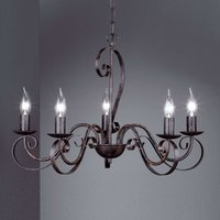 Pisa Chandelier Country House Five Bulbs