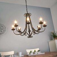 Roma Chandelier Country House Eight Bulbs