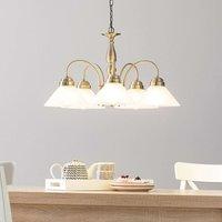 Antwerpen Hanging Light Five Bulbs