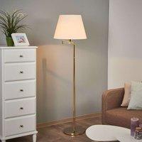 Berlin floor lamp in polished brass