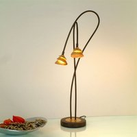 Graceful LED table lamp Fontaine  two bulb