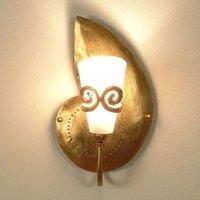 Beautiful wall lamp RIFUGIO SCHNECKE gold right