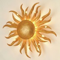 Fascinating wall lamp SONNE GOLD 45 cm