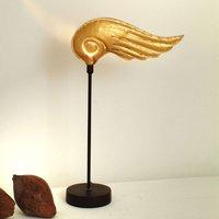 Striking table lamp HERMES GOLD