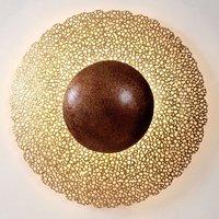 Utopistico Circa wall light  gold brown
