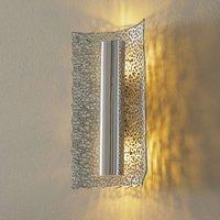 Exclusive wall lamp Utopistico in silver