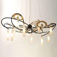 Exclusive LED hanging light Casino Grande  110 cm