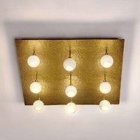 Square LED designer ceiling light Lucente