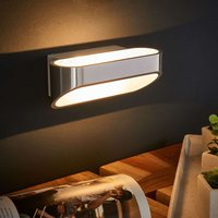 Beautifully shaped LED wall light Onno  aluminium