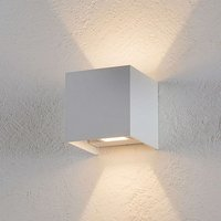 LED outdoor wall light SIRI 44  matt white finish