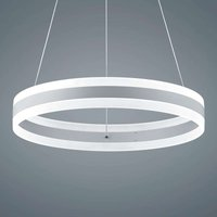 Liv   matt white LED hanging light  diameter 60 cm