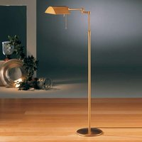 Energy saving DUNIA floor lamp  brass
